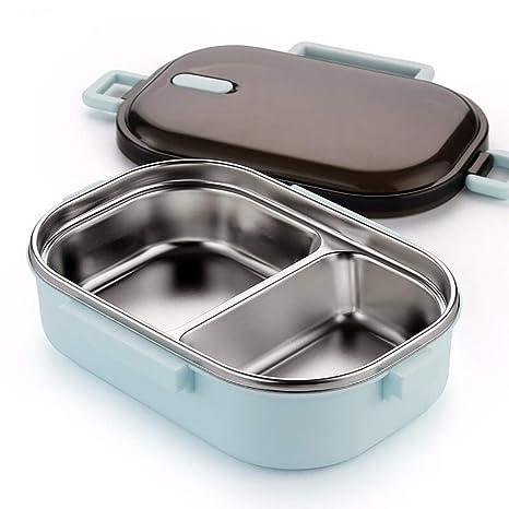 YAUUYA Bento Lunch Box 2 Compartimentos con Aislamiento ...