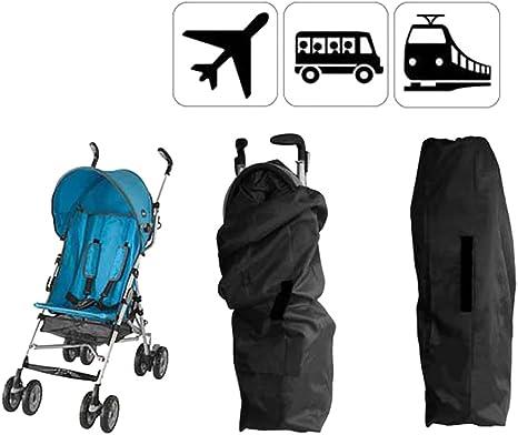 Baby Stroller Bag for Airplane Travel Durable Stroller Gate Check Bag Portable Pushchair Pram Stroller Transport Carry Cover Car Stroller