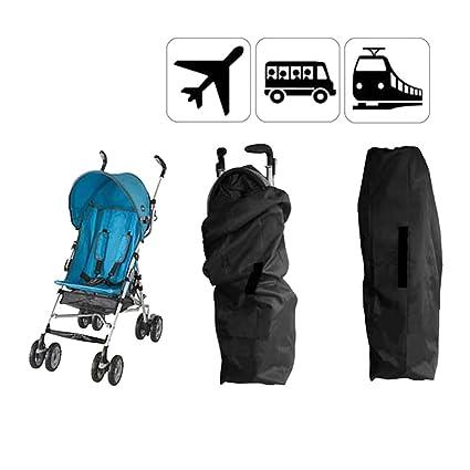 Universal funda para bebé cochecito bolsa de transporte Landau bolsa de equipaje paseo paraguas carteras bandolera impermeable almacenamiento ...