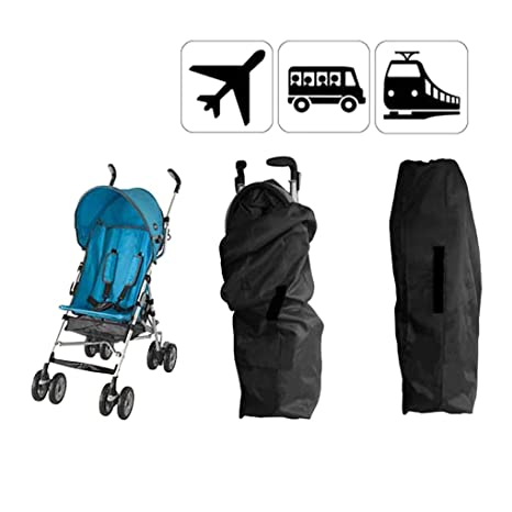 Universal funda para bebé cochecito bolsa de transporte Landau bolsa de equipaje paseo paraguas carteras bandolera