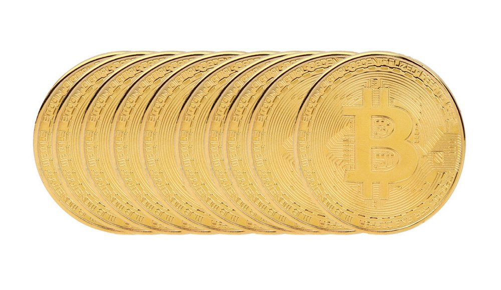 OutTop-10-Pcs-Art-Gold-Plated-Bitcoin-Collection-Coin-Home-Room-Office-Decoration