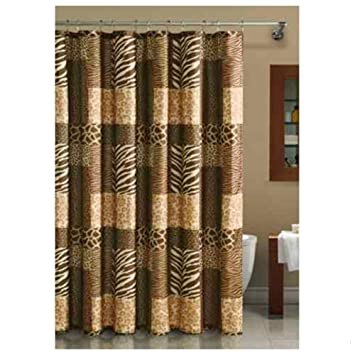 Light Brown Shower Curtain - Mobroi.com