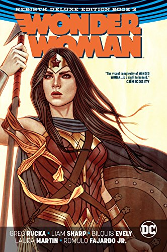 Wonder Woman: The Rebirth Deluxe Edition Book 2 (Wonder Woman Vol 2 Year One Rebirth)