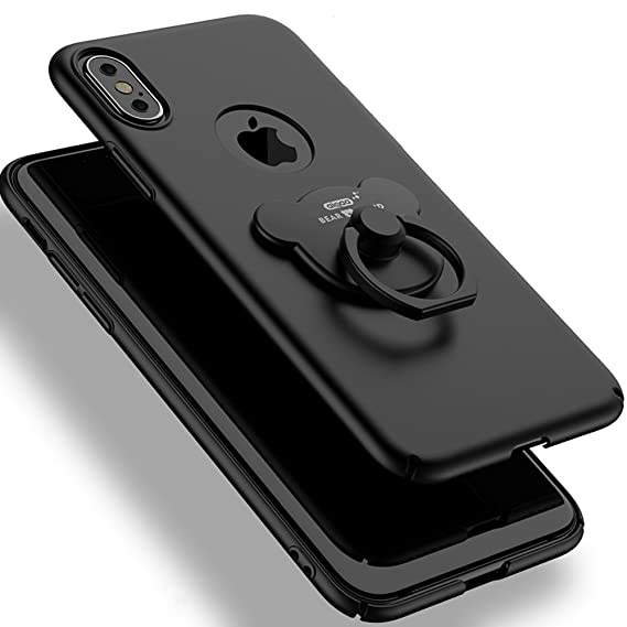 Giveaway iphone x case finger ring