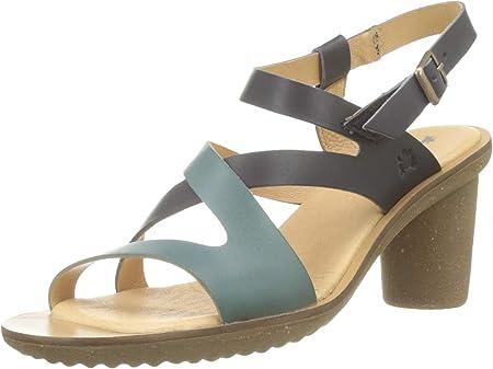 El Naturalista Trivia, Zapatos de tacón con Punta Abierta para Mujer
