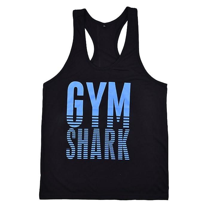 3dd15283d50ec1 YYF Men Gym Bodybuilding Tank Tops Vest Stringer Fitness Shirts Sports  Cloth  Amazon.co.uk  Clothing