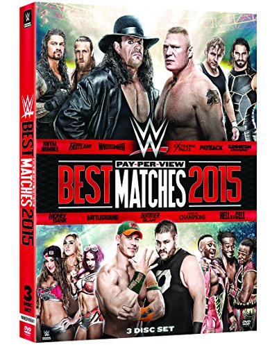 Wwe 2016:Best Pay-Per-View Matches 2015
