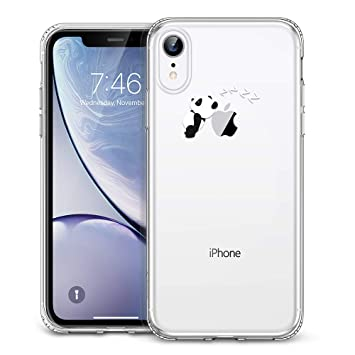 coque transparente avec motif iphone xr