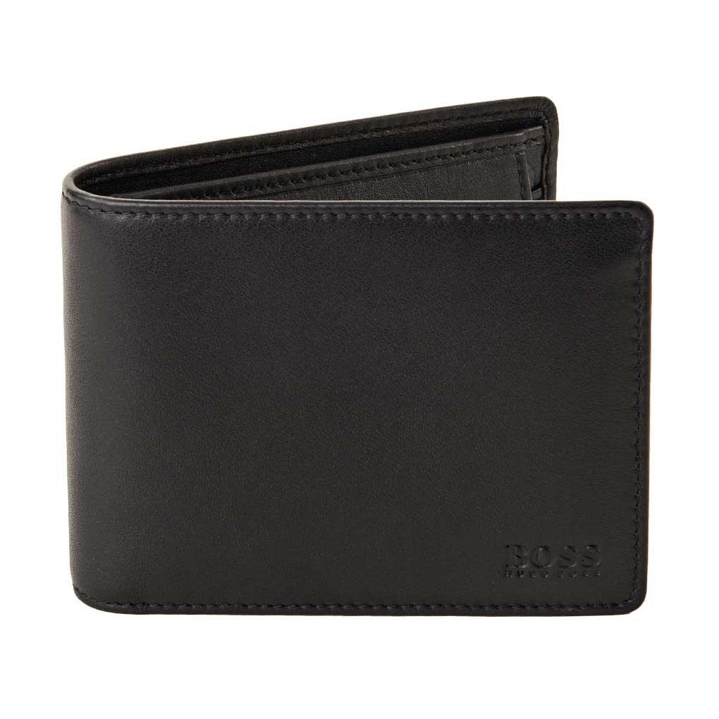 BOSS Hugo Boss Men's Arezzo Wallet, Black, One Size