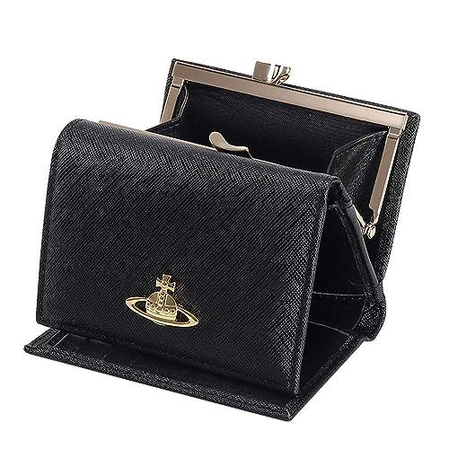 premium selection 600a6 ac943 Vivienne Westwood ヴィヴィアンウエストウッド 財布 三つ折り財布 mini wallet レディース 女性 スナップ開閉式 小銭入れ  人気 ブラック13106 [並行輸入品]