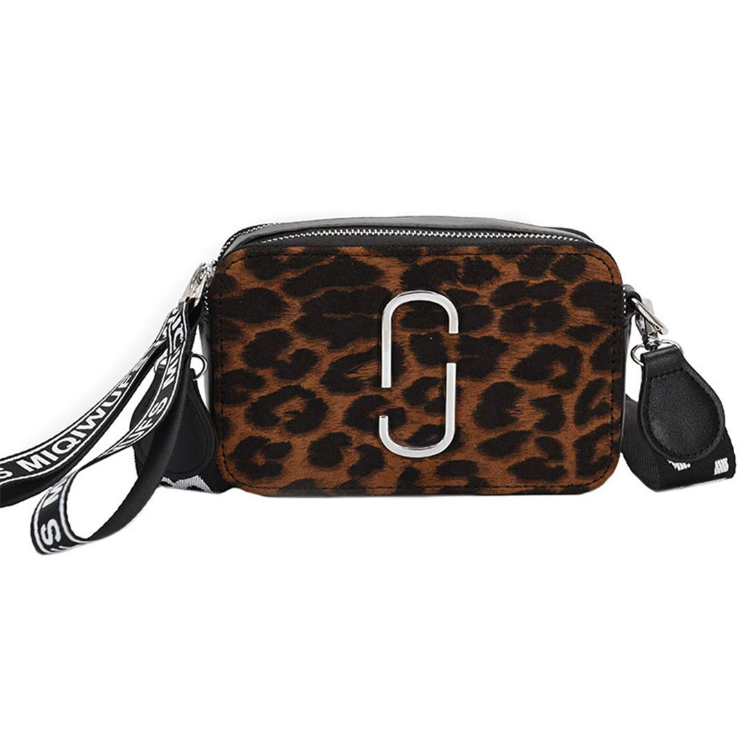 93d48a423584 Amazon.com: LIUGHGB Leopard Print H Bags for Women Brown Leather+ ...