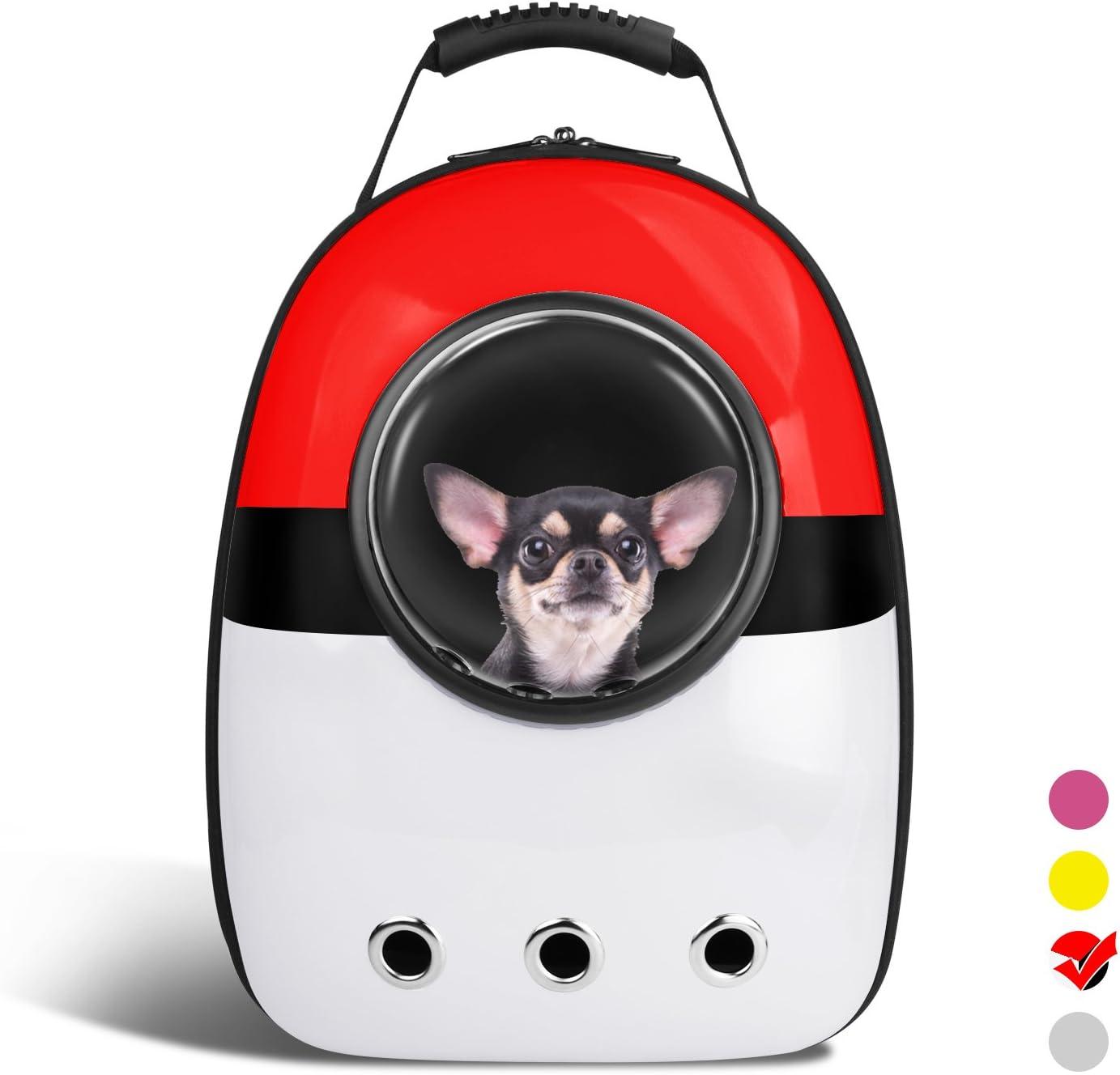 VOUMEY Astronauta Pet Cat Dog Puppy Carrier Bolsa de Viaje Space Capsule Backpack Respirable: Amazon.es: Juguetes y juegos