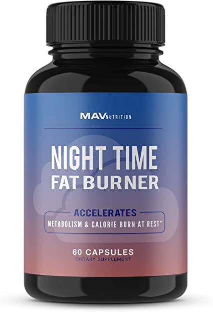 Amazon.com: MAV Nutrition Weight Loss Pills Night Time Fat Burner for Women  & Men | Sleep Aid Diet Pills, Appetite Suppressant, Metabolism Boost, Carb  Blocker; 60 Count: Health & Personal Care