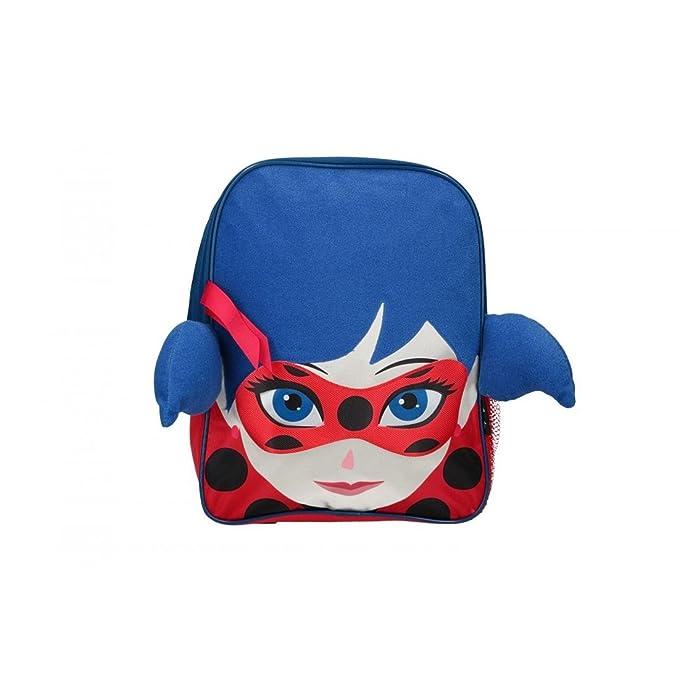 Mochila niño MIRACULOUS Ladybug bolsa de ocio escolar rojo 3D VZ844: Amazon.es: Ropa y accesorios