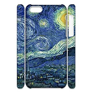 Cell phone 3D Bumper Plastic Case Of Oil painting For iPhone 5C