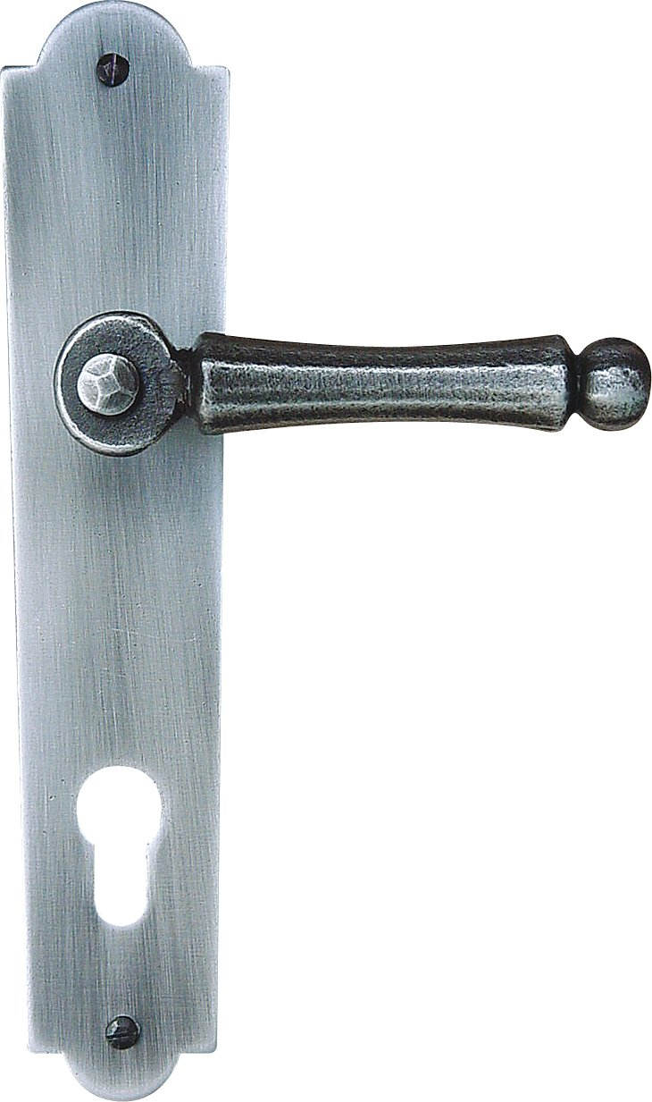 Roro Venezia Wrought Iron Door Handle with Keyhole 200072