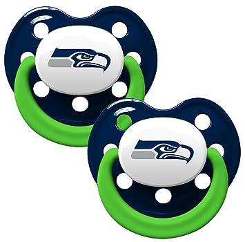 sale retailer 14507 d9047 Baby Fanatic Pacifier, Seattle Seahawks
