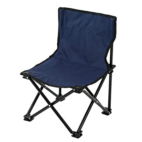 Zhhyltt Recreación al Aire Libre Sillas Plegables Aluminio Oxford Tela Material Leisure Camp Backrest Chair Folding