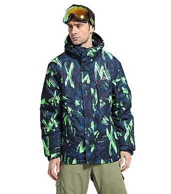 Amazon.com: Fashion - Traje de esquí para hombre, de alta ...