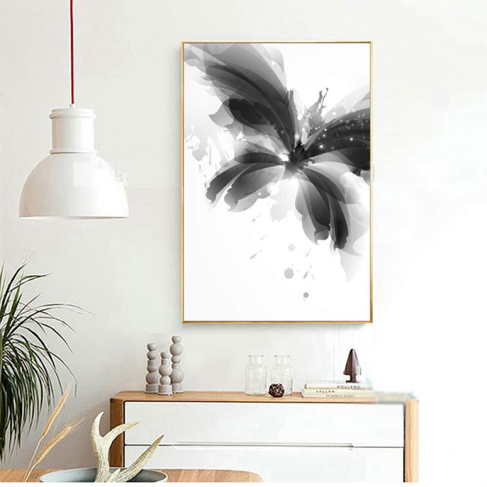 adgkitb canvas 40x60cm SIN Marco Mariposa Belleza Sala de Estar ...