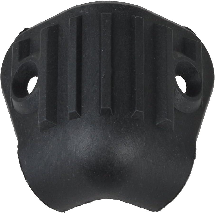 Kmise Black Hard Plastic Guitar Amp Amplifier Speaker Cabinet Corner Protectors M Size Pack of 20