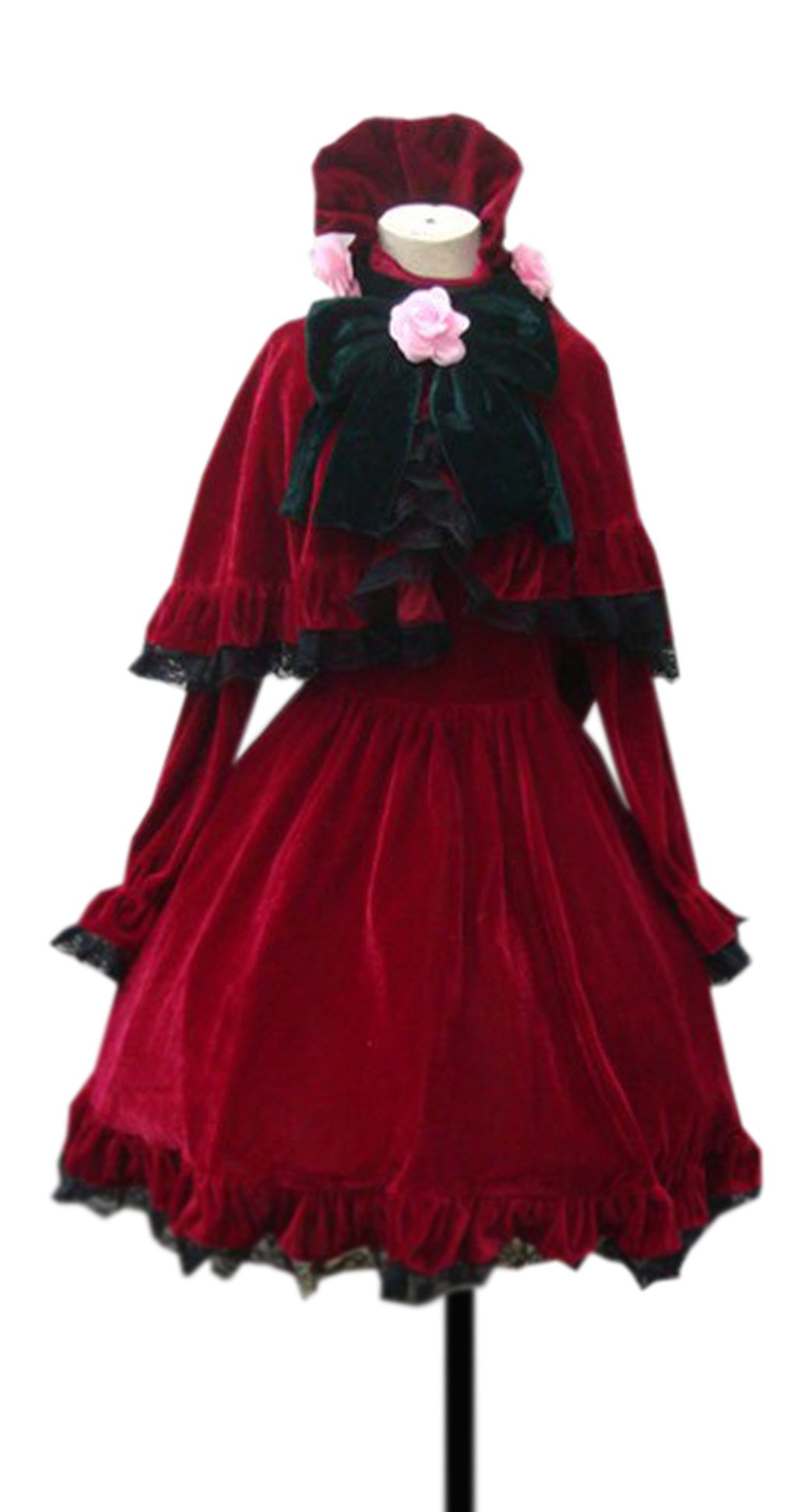 Dreamcosplay Rozen Maiden Shin ku Red Outfits Cosplay Costume