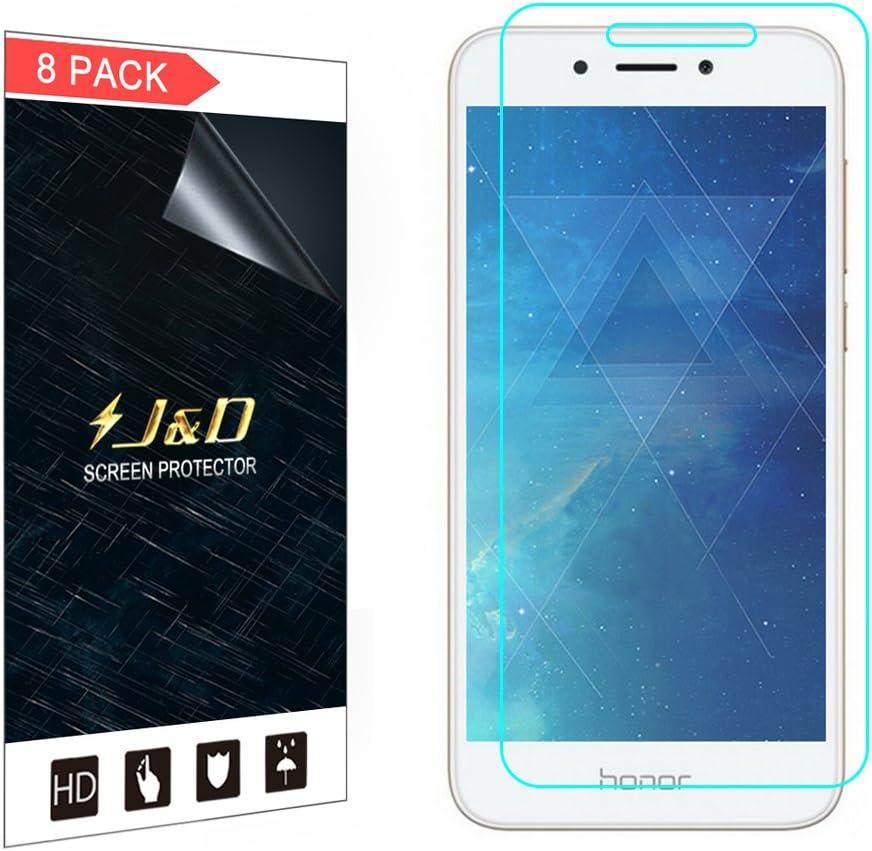 J&D Compatible para 8 Paquetes Huawei Honor 6A Pro Protector de ...