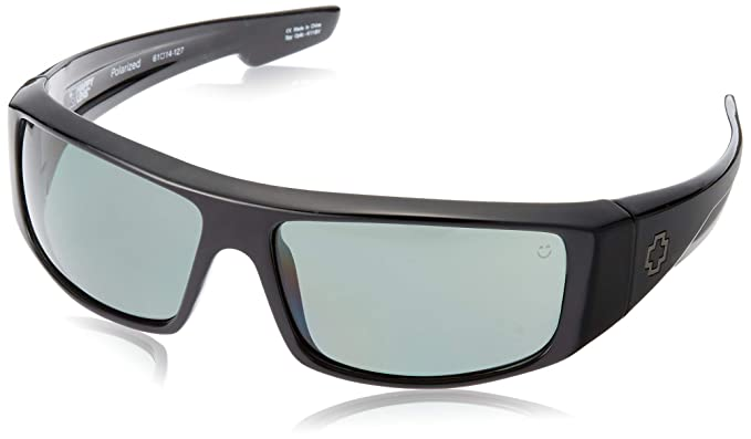 Spy Gafas de Sol Logan, Happy Gray Green Polar, 670939038864 ...