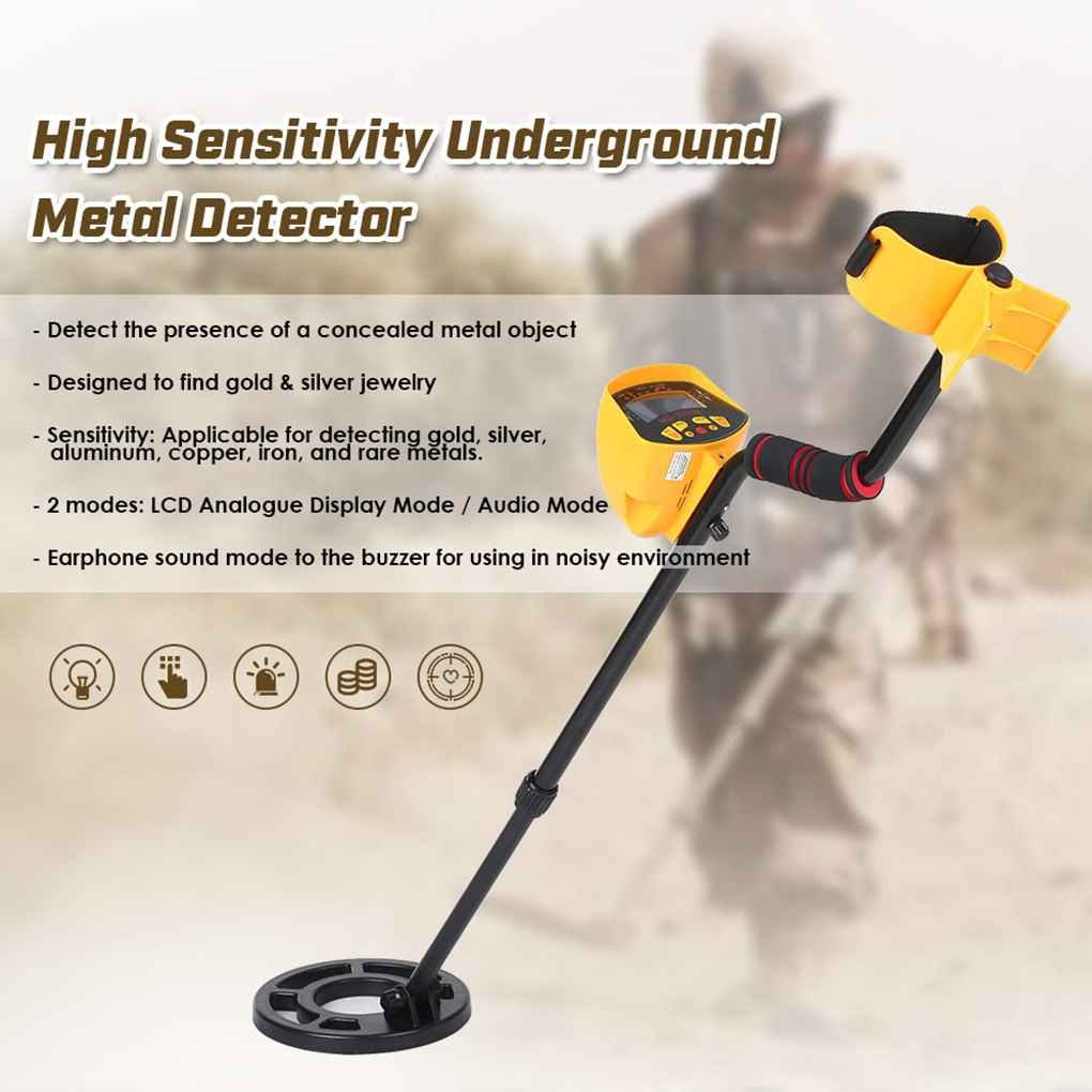 Topker Underground Metal Detector High Sensitive Display LCD Gold Silver Finder: Amazon.es: Bricolaje y herramientas