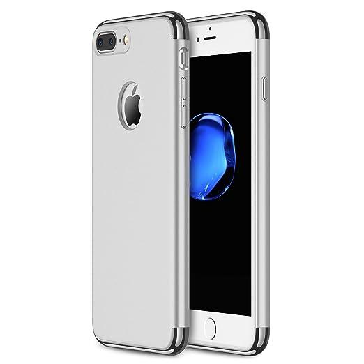 25 opinioni per Custodia per iPhone 7 Plus, RANVOO in 3 parti in stile extra sottile e rigida