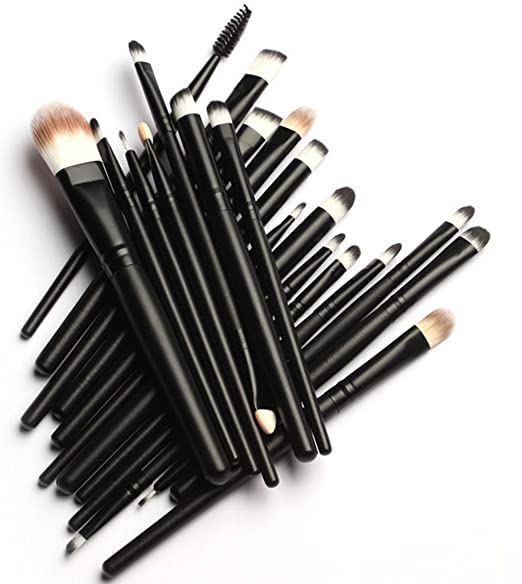 Pro Makeup Brushes Set 20-Pcs.