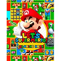 Super Mario Coloring Book: Great Coloring Book for Kids Ages 3-10