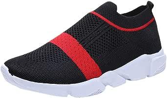 Zapatos para Mujer Zapatos de Malla Tejida Zapatos Deportivos sin ...