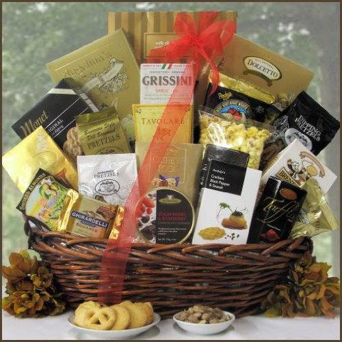 Gourmet Food & Snack Grand Edition Gift Basket by Giftbasket from Gift Basket
