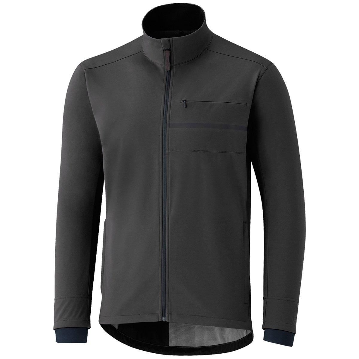 Shihommeo Veste Cyclisme Transit Softshell Dark gris (L, gris)