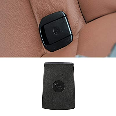 Jaronx for BMW Child Seat Anchor Cover,Rear Row Seat Safety Belt Anchor Cover for BMW 1 Series F20 F21 /2 Series F22 F87 F23 / 3 Series F30 F31 F34 F80 (Black, Anchor Cover): Automotive