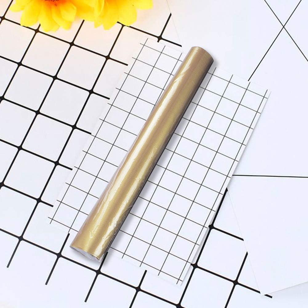 Huatuqi Lot de 5 tapis de barbecue anti-adhésifs réutilisables résistants à la chaleur pour griller, cuisiner, cuire au four, barbecue 33 x 40 cm Jaune