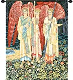 Tapestry, Extra Large, Tall - Elegant, Fine, French & Wall Hanging - The Holy Grail I - with Border, H58xW45