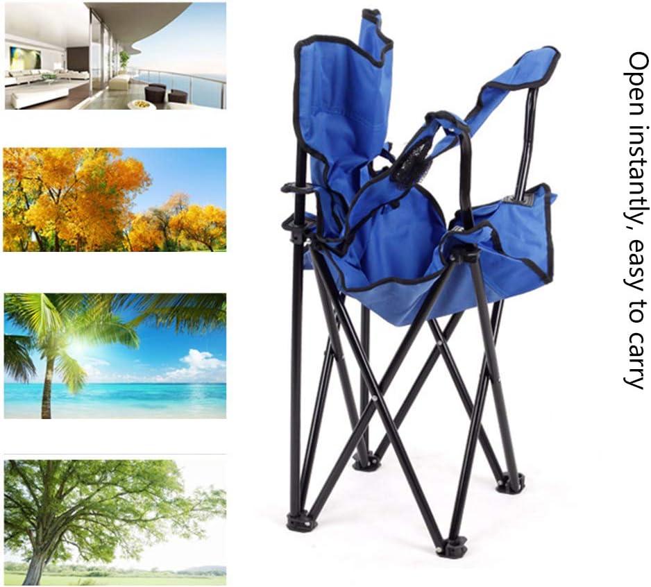 GJG Chaise de Camping léger Pliant Portable, Ultra léger de Jardin Chaise Portable Chaise Pliante, pour Le Jardin, Camping, Voyage,1 1