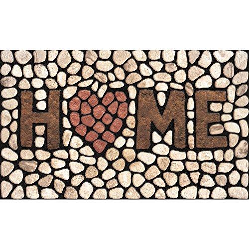 Family Door Mat (Home Stones Door Mat Rug Indoor/Outdoor/Front Door/Shower Bathroom Doormat, Non-slip Doormats, 18-Inch by 30-Inch)