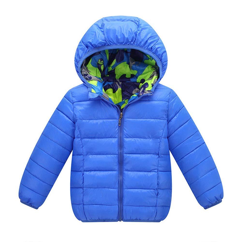 M&A Boys Lightweight Packable Hooded Puffer Jacket Winter Coat