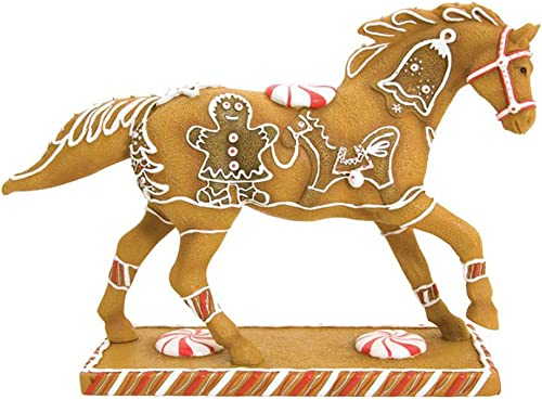 Enesco Trail of Painted Ponies Gingerbread Pony Figurine 6-1 4-Inch