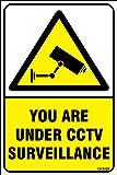 Amazing Sign Sign Board CCTV Camera Surveillance Sign Board (Set of 1)