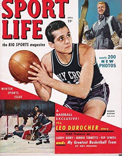 Sport Life April 1949 Magazine George Kaftan - Holy Cross