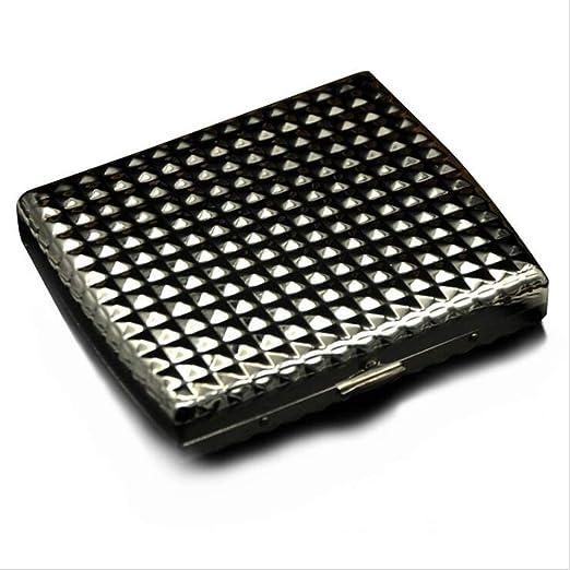 SailorMJY Caja Cigarrillo, Pitillera Cigarrillos Estuche de Cigarrillos de Metal con diseño Tridimensional pequeño y portátil fácil de Poner en el Bolsillo (Tiene Capacidad para 20): Amazon.es: Hogar