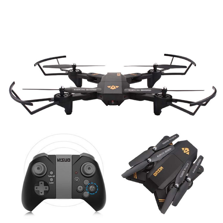 JOSE9A A ® Wi-Fi FPV 2 MP 720p HD videocamera Pieghevole Self Drake Altezza RC RC Quadcopter UAV