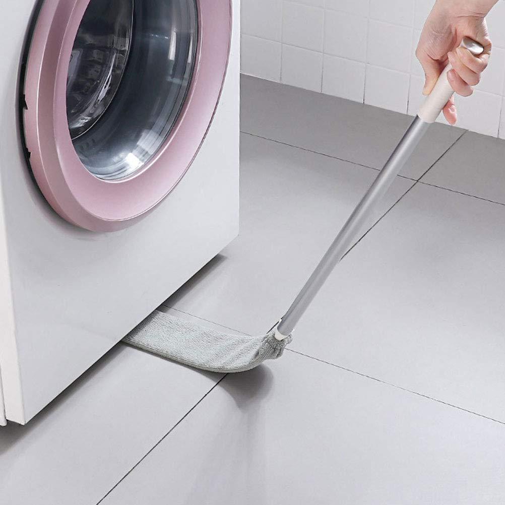 Cepillo de limpieza de polvo de separaci/ón,cepillo de limpieza desmontable Limpiador de polvo de microfibra para muebles de sof/á cama Herramienta de limpieza de polvo de separaci/ón inferior del hogar