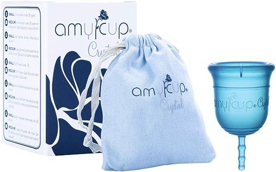 COPA MENSTRUAL AMYCUP® Crystal (Tamaño M - para las mujeres mayores de 30 años)