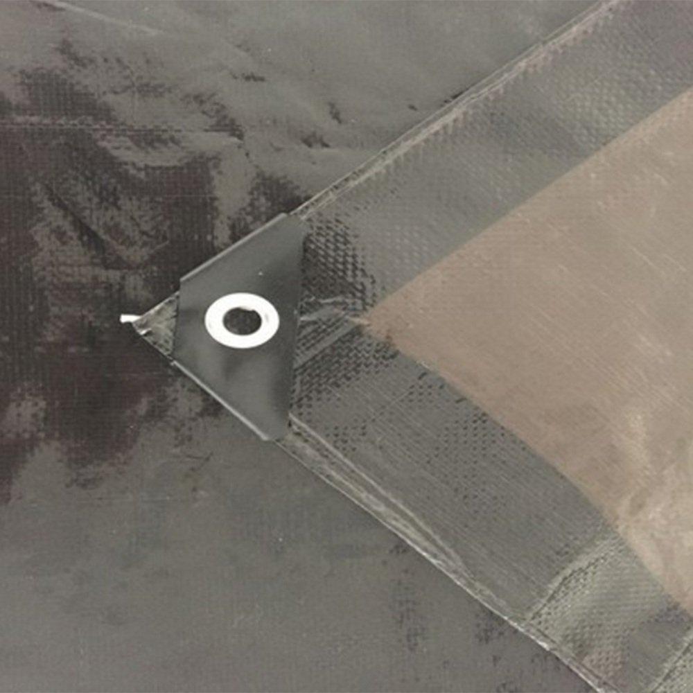 Hyzb Im Freien Freien Freien Plane-Regenwasserdichter und Sunproof Auto-LKW-Farbton-Stoff - 0.15mm (Farbe   SCHWARZ, größe   2  2m) B07PG4HQPV Zeltplanen Leidenschaftliches Leben 91d67d
