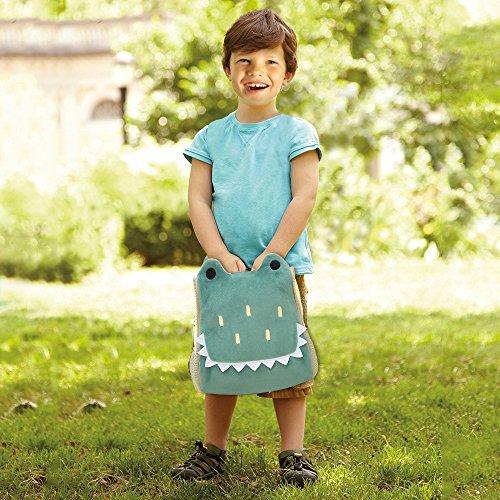 b0d6ac5f5de B BELK Little Boys  Girls  Animal Backpack Toddler School Bag with Bottle  Holder